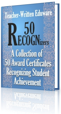 Certificate of Achievement: 50 Awards Recognizing Student