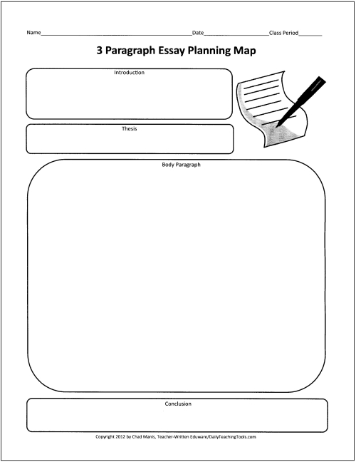 Online Graphic Organizer: An Essay Map from ReadWriteThink - Tech ...