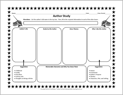 ABC Brainstorming   Free Printable Worksheet   Student Handouts Educationandbehavior com