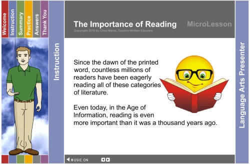 essay on importance of book reading