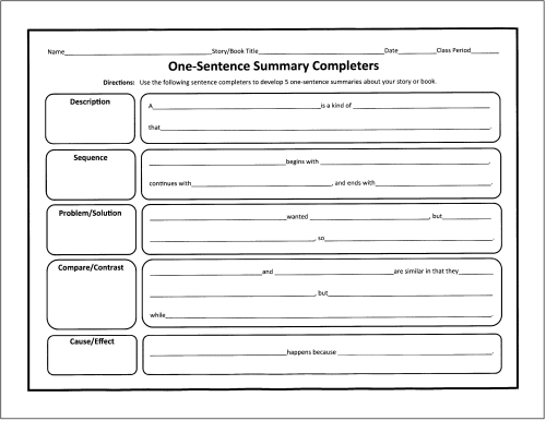4 paragraph essay planning sheet