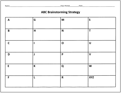 brainstorming strategy Brainstorming as a strategy in teaching mathematics - download as pdf file (pdf), text file (txt) or read online.