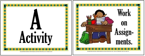 champs classroom management  100 behavioral expectations signs