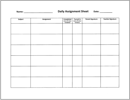 subjects studied in high school mba assignment format