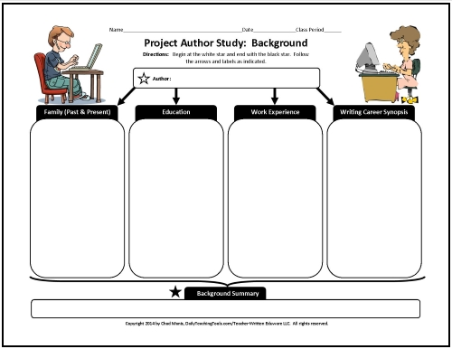 Author Study Form - Freeology