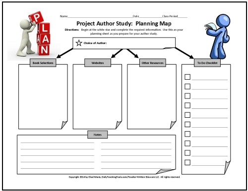 More Free Graphic Organizers for Studying and Analyzing – Middle School Study Skills Worksheets