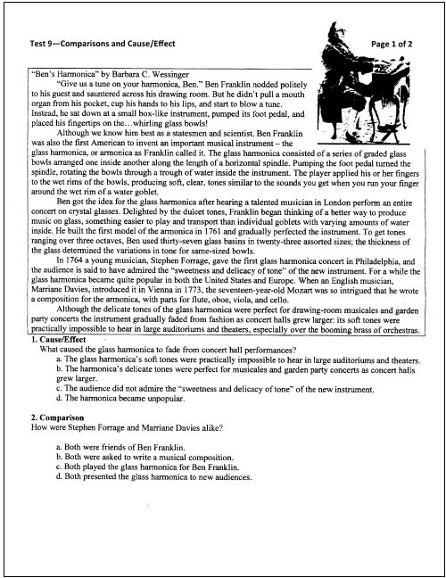 10th grade language arts worksheets