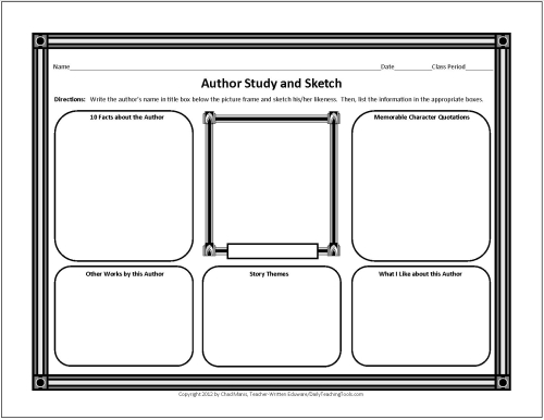 Free Graphic Organizers for Studying and Analyzing – Middle School Study Skills Worksheets