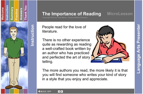 importance of reading Title: the importance of the act of reading created date: 12/14/2001 1:28:15 pm.