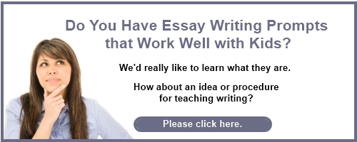 essay prompts elementary students Free, informative, expository writing prompt worksheet activities to help students develop strong writing skills for class or home use click to get started.