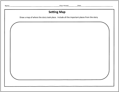 Story Setting Worksheets